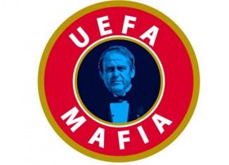 UEFA mafia Kibice sie buntują