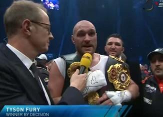 Tyson Fury przegrał z wyborczą:-)