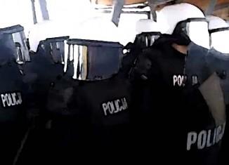 Atak policji na kibiców!