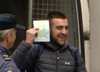 kibic aresztowany
