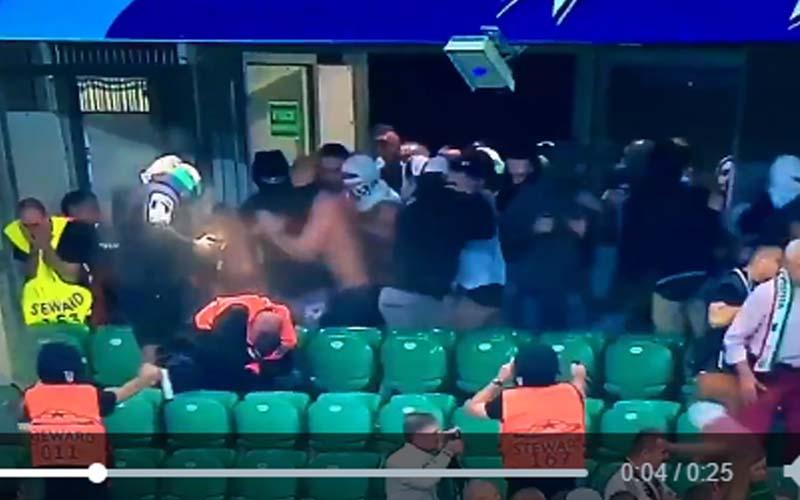 Kibice Legii Warszawa – histeria po meczu!