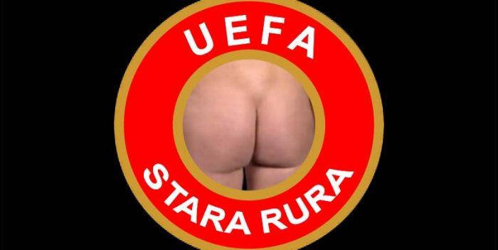 Legia ukarana, trybuny puste!