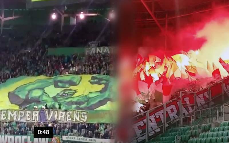 Śląsk – Legia oprawy!