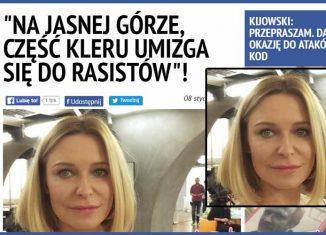 Paulina Młynarska komentuje Kibicowską Pielgrzymkę!