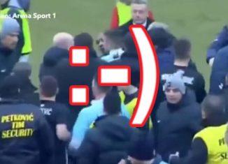 """Kibole """"rozpłakali"""" piłkarza"""