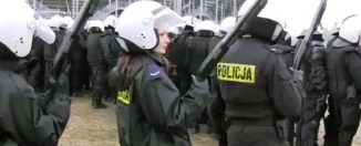 Policja prowokuje kibiców!