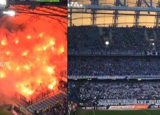 Ogień i dym w Poznaniu!