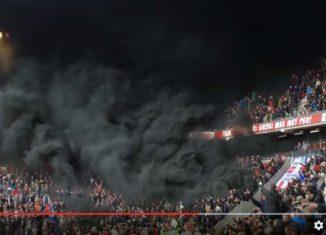 Czarny dym na sektorze!