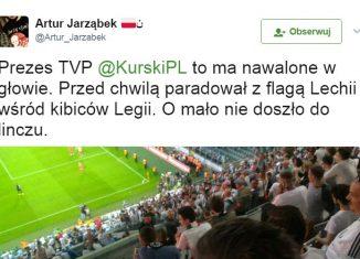 Kibice Legii oblali Kurskiego!