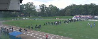 Rodzinna atmosfera na meczu Polonia – Wisłoka!