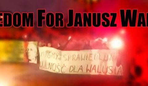 "Kibice Legii i Rakowa: ""Freedom for Janusz Waluś!"""