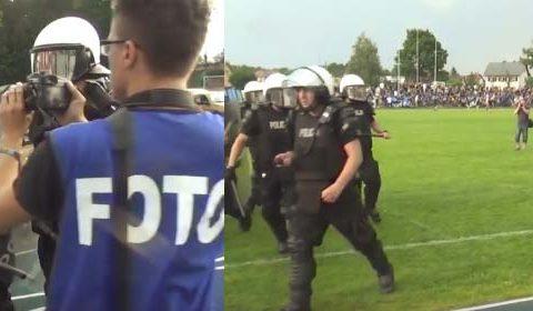 Policja zawija piłkarza Zawiszy!